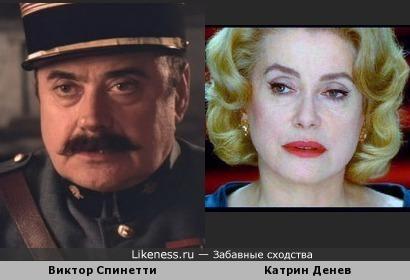 Виктор Спинетти и Катрин Денев