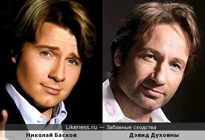 Николай Басков иногда бывает чем-то похож на Дэвида Духовны