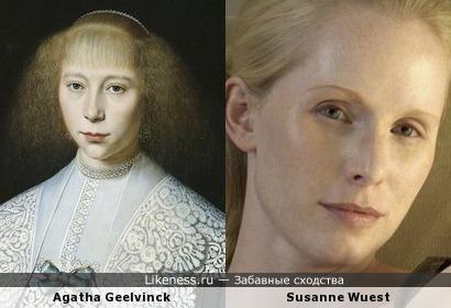 Agatha Geelvinck и Susanne Wuest
