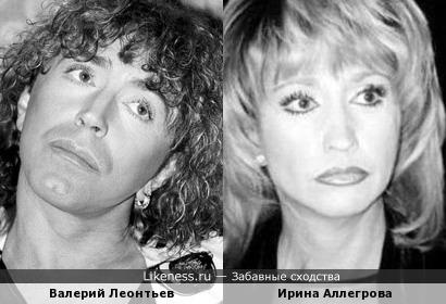Валерий Леонтьев и Ирина Аллегрова