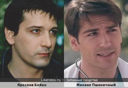 Михаил Пшеничный похож на Ярослава Бойко