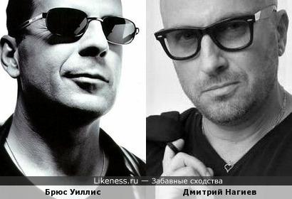 Брюс Уиллис и Дмитрий Нагиев