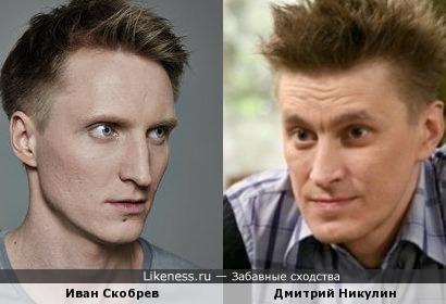 Дмитрий Никулин как шарж на Ивана Скобрева
