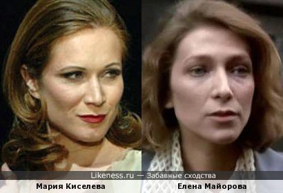 Мария Киселева и Елена Майорова