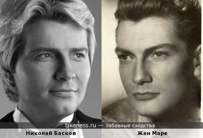 Николай Басков и Жан Маре