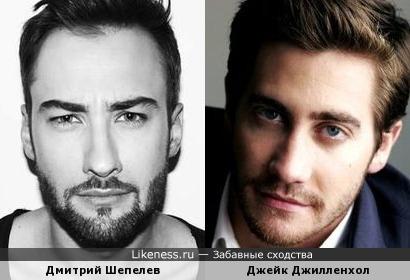 Дмитрий Шепелев и Джейк Джилленхол