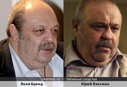 Доктор Бранд и Юрий Ваксман