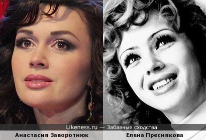 Анастасия Заворотнюк и Елена Преснякова