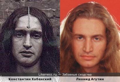 на этой фоте Хабенский напомнил Агутина...чуть-чуть)))