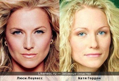 Люси Лоулесс и Катя Гордон