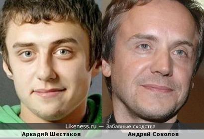 Аркадий Шестаков немного напоминает Андрея Соколова