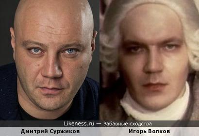 Дмитрий Суржиков и Игорь Волков