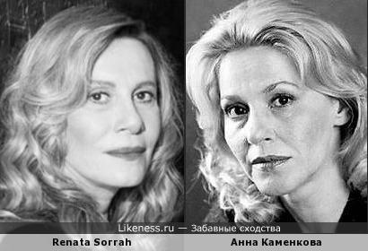 Renata Sorrah и Анна Каменкова