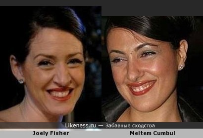 Joely Fisher и Meltem Cumbul