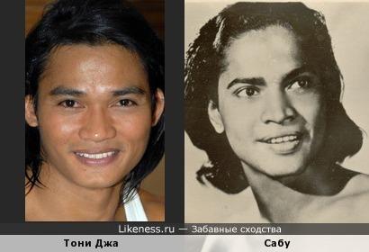 Тони Джа (Онг Бак) похож на Сабу (Маугли)