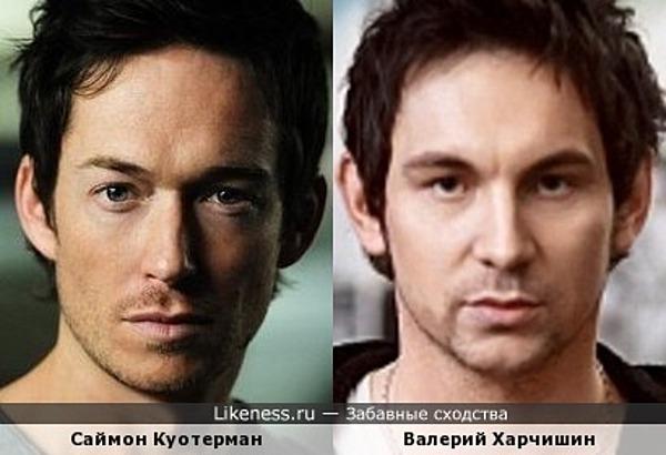 Саймон Куотерман и Валерий Харчишин