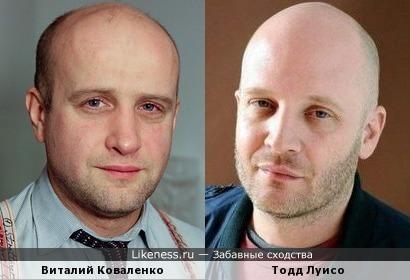 Виталий Коваленко и Тодд Луисо
