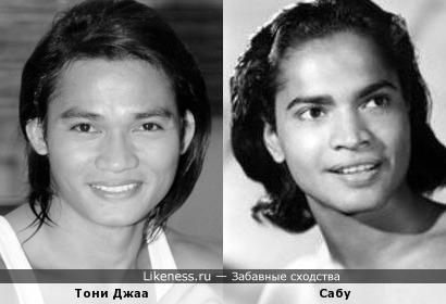 Тони Джаа и Сабу