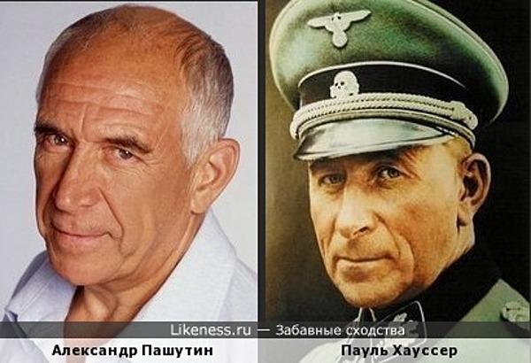 Александр Пашутин похож на Пауля Хауссера