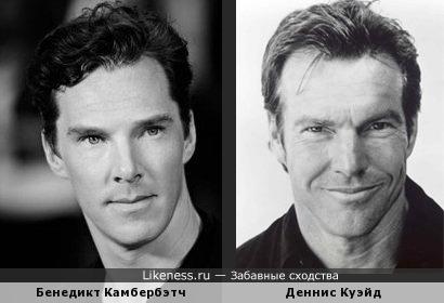 Бенедикт Камбербэтч (Benedict Cumberbatch) и Деннис Куэйд (Dennis Quaid)