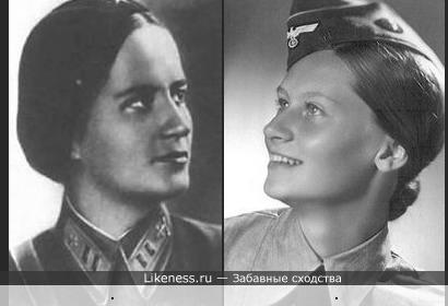 Женщины - участницы войны
