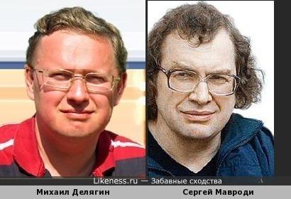 Михаил Делягин похож на Сергея Мавроди