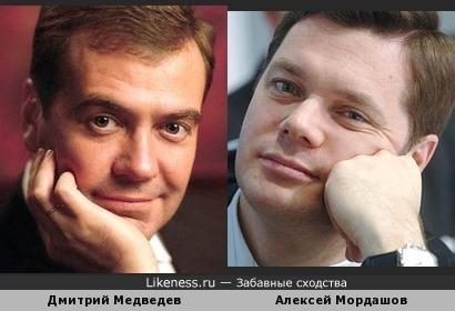 Дмитрий Медведев и Алексей Мордашов