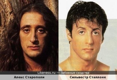 Алекс Старополи (Alex Staropoli) и Сильвестр Сталлоне (Sylvester Stallone)