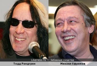 Тодд Рандгрен (Rundgren Todd) и Михаил Ефремов