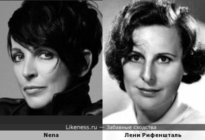 Nena (CBS Schallplatten GmbH, Epic Records) и Лени Рифеншталь (Leni Riefenstahl)