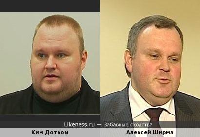 Ким Дотком (Kim Dotcom) и Алексей Ширма