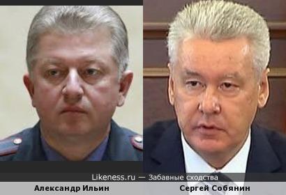 Александр Ильин и Сергей Собянин