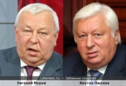 Евгений Муров и Виктор Пшонка