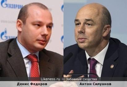Денис Федоров и Антон Силуанов