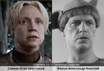 Сериал Игра престолов и фильм Александр Невский