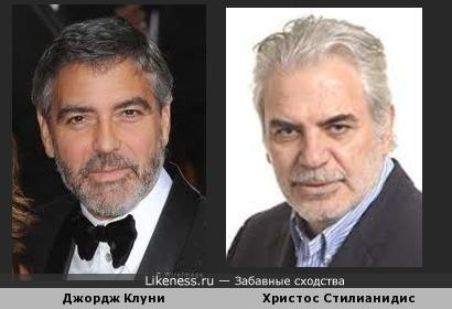 Джордж Клуни и Христос Стилианидис