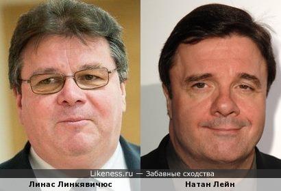 Линас Линкявичюс и Натан Лейн