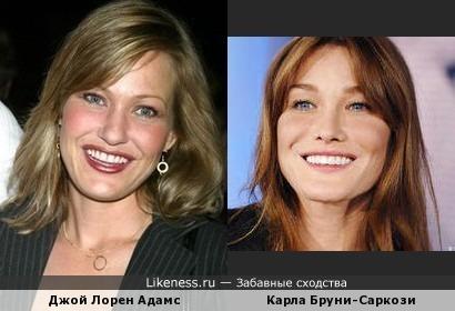 Похожие актрисы: Бруни и Адамс