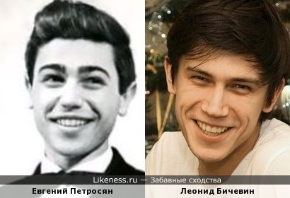 Много общего в лицах Петросяна и Бичевина