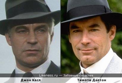 Джон Касл и Тимоти Далтон похожи