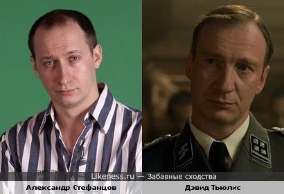 """Александр Стефанцов (Зайнец +1) похож на Дэвид Тьюлиса (кадр из фильма """"Мальчик в полосатой пижаме"""")"""