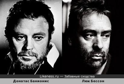 Донатас Банионис похож на Люка Бессона