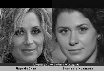 """Лара Фабиан и Виолетта Козакова, песня которой """"Посвящение женщине"""