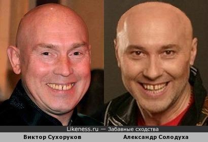 Виктор Сухоруков и Александр Солодуха похожи