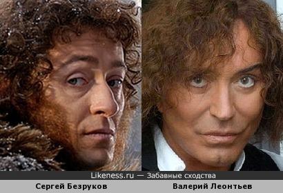 Сергей Безруков в роли Пушкина похож на Валерия Леонтьева