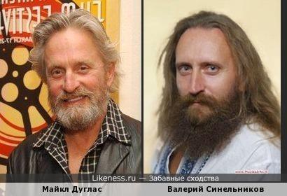 Майкл Дуглас и гомеопат Валерий Синельников