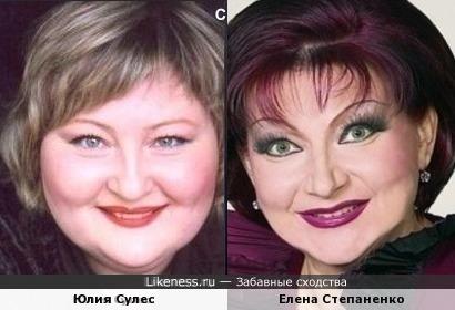 "Юлия Сулес - ""мягкий"
