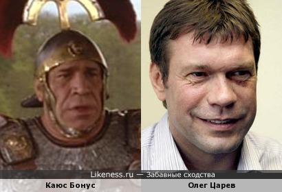 Жан-Пьер Кастальди похож на Олега Царёва