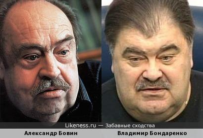 Владимир Бондаренко, один из кандидатов в Президенты Украины, похож на Александра Бовина