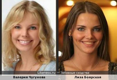 Чем-то похожи, и не только улыбками )